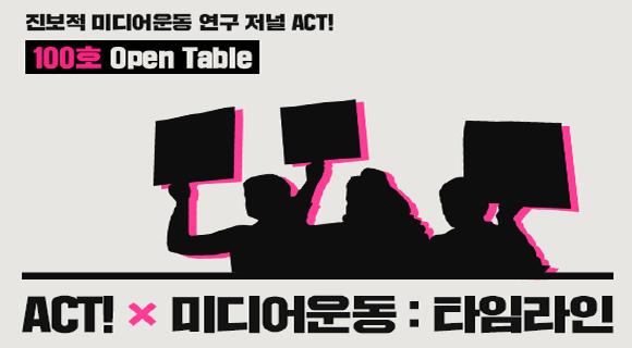 ACT!미디어운동:타임라인
